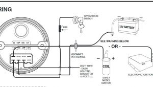 Autometer Shift Light Wiring Diagram Auto Meter Tach to Msd 6al Box Wiring Wiring Diagrams Data