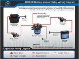 Battery isolator Relay Wiring Diagram Amazon Com Nvx 500 Amp Mobile Audio Relay Battery isolator Bir500