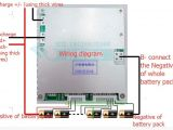 Battery Operated Motorcycle Wiring Diagram Wiring Diagram for 16 24s Lithium Battery Bms Lipo Battery