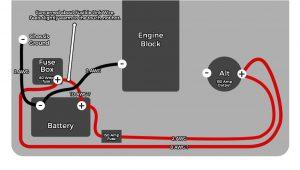 Big 4 Wire Upgrade Diagram 130 Amp Alternator and Wiring Job 1988 3 0 V6 Yotatech