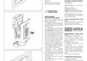Bitron Intercom Wiring Diagram Bpt Installation Instructions