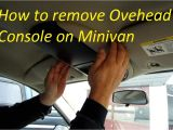 Blazer Overhead Console Wiring Diagram How to Remove Overhead Console On Caravan town and Country Youtube