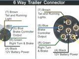 Blue Ox 7 Pin to 6 Pin Wiring Diagram Six Pin Connector Wiring Diagram Wiring Diagram Mega