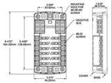 Blue Sea Systems Fuse Block Wiring Diagram Blue Sea Systems 12 Space Fuse Block Back Country solar
