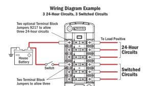 Blue Sea Systems Fuse Block Wiring Diagram Yg 3982 Blue Sea Wiring Diagram Schematic Wiring