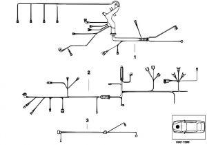 Bmw E46 Engine Wiring Harness Diagram original Parts for E46 318i M43 touring Engine Electrical