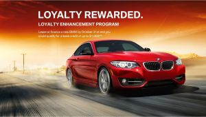 Bmw Loyalty Program Bmw Loyalty Promotion Enhancement Program In New Jersey