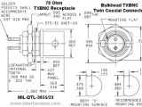 Bnc Connector Wiring Diagram Mil Std 1553 Twinax Connector and Twinax Cable Drawings