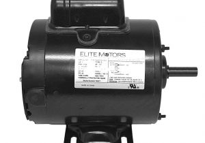 Boat Lift Motor Wiring Diagram Amazon Com Elite 1 Hp Heavy Duty Boat Lift Motor 56 Frame
