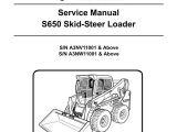 Bobcat Fuel Shut Off solenoid Wiring Diagram Bobcat S650 Skid Steer Loader Service Manual 6987168