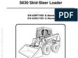 Bobcat Fuel Shut Off solenoid Wiring Diagram Sevice Manual Bobcat S630 1 Pdf Fires Engines