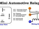 Bosch 12v Relay Wiring Diagram Wiring Diagram for Auto Relay Wiring Diagram Name