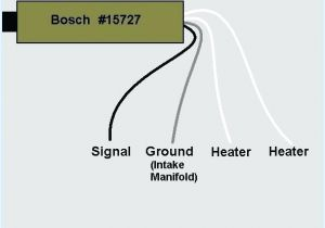 Bosch 15730 Oxygen Sensor Wiring Diagram 4 Wire O2 Diagram Wiring Diagram Database