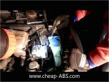 Bosch 5.3 Abs Module Wiring Diagram How to Remove An Abs Module From A Vw Passat or Audi A4 A6 S4 Youtube