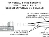 Bosch 5 Wire O2 Sensor Wiring Diagram Denso Oxygen Sensor Wiring Diagram Wiring Diagram