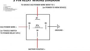 Bosch Type Relay Wiring Diagrams Wiring Diagram for Automotive Relay Wiring Diagram Mega