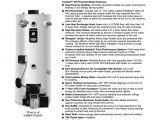 Bradford White Electric Water Heater Wiring Diagram Bradford White Corp 544 B Water Heater User Manual Manualzz