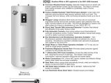 Bradford White Electric Water Heater Wiring Diagram Bradford White Upright Od Series Energy Saver
