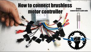 Brain Power Motor Controller Wiring Diagram How to Connect Brushless Motor Controller Wires 250w 36v Wire assemblies