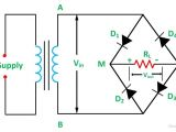 Bridge Rectifier Wiring Diagram Full Wave Bridge Rectifier Its Operation Advantages