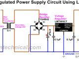 Bridge Rectifier Wiring Diagram Regulated Dc Power Supply Circuit Using Bridge Rectifier 1g4b42
