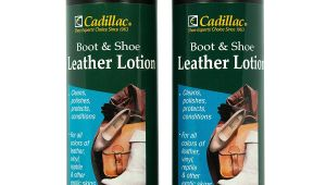 Cadillac Leather Conditioner Amazon Com Cadillac Boot and Shoe Leather Lotion 8 Fl Oz 2 Pack