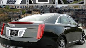 Cadillac Xts Accessories E G Classics 2013 2016 Cadillac Xts Accessories Classic Rear Tag