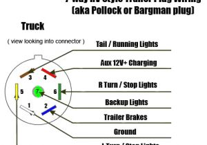 Camper 7 Way Wiring Diagram How to Connect 7 Way Trailer Rv Plug Diagram Video