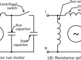 Capacitor Start Capacitor Run Motor Wiring Diagram What is the Wiring Of A Single Phase Motor Quora
