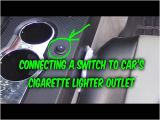 Car Cigarette Lighter Wiring Diagram How to Install Wire 3 Prong Switch to Car 12v Power Outlet