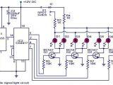 Car Signal Light Wiring Diagram Automobile Turn Signal Light Circuit Diagram Electronic Circuits
