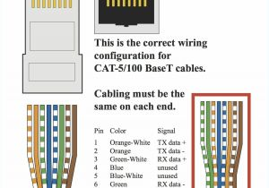 Cat 6 Wiring Diagram 568b for the Cat 5 Cable Rj45 Jack Wiring Diagram Free Download Wiring