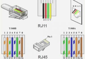 Cat5 Cctv Wiring Diagram Rj11 Wiring Diagram Using Cat5 Wiring Diagram and Schematic Rj45