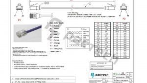 Cat5e and Cat6 Wiring Diagram Cat6 Ethernet Cable Wiring Diagram Wiring Diagram Database