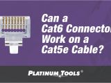 Cat5e Ethernet Wiring Diagram Can A Cat6 Connector Work On A Cat5e Cable Platinum toolsa