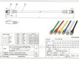 Cat5e Straight Through Wiring Diagram Cat5e Patchkabel Doppelt Geschirmt Sf Utp 50 M