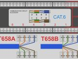 Cat6 Wire Diagram Cat 6 Ethernet Wall Jack Wiring Wiring Diagram Site