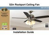 Ceiling Fan Model Ac 552 Wiring Diagram How to Install the Hampton Bay 52 Rockport Ceiling Fan