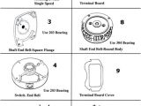 Century Ac Motor Wiring Diagram Magnetek Century Magnetek Century Motor Parts Replacement Part