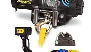 Champion 3000 Lb Winch Wiring Diagram Amazon Com Champion 4500 Lb atv Utv Wireless Winch Kit Automotive