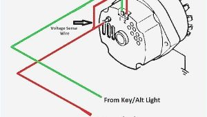 Chevy 1 Wire Alternator Wiring Diagram 1 Wire Alternator Diagram In 2020 with Images Alternator
