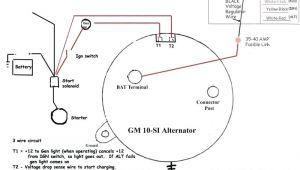 Chevy 2 Wire Alternator Diagram Delco Wiring Schematic Hs Cr De