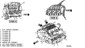 Chevy Spark Plug Wire Diagram Spark Plug Wires Came Off How Do I Put them Back In Line