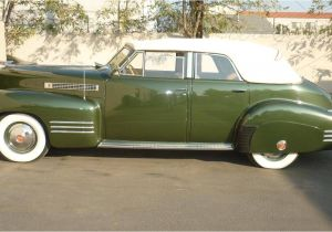 Classic Cadillacs for Sale 1941 Cadillac Series 62 Convertible Sedan Cadillac 1941 1943