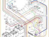 Club Car Battery Wiring Diagram 1997 Club Car Ds Battery Wiring Diagram for 48 Volts Data Diagram