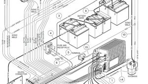 Club Car Battery Wiring Diagram 48 Volt 42 Volt Battery Wiring Diagram Wiring Diagram Database Blog