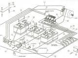 Club Car Wiring Diagram 36 Volt 36 Volt Club Car Wiring 81 Model Wiring Diagram Option