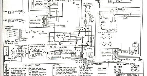 Coleman Evcon thermostat Wiring Diagram Janitrol Furnace thermostat Wiring Diagram Wiring Diagram Database