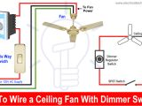 Connection 3 Speed Fan Motor Wiring Diagram How to Wire A Ceiling Fan Dimmer Switch and Remote Control