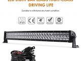 Cree Led Light Bar Wiring Diagram Amazon Com Auxbeam 32 180w Curved Led Light Bar 5d Lens 18000lm